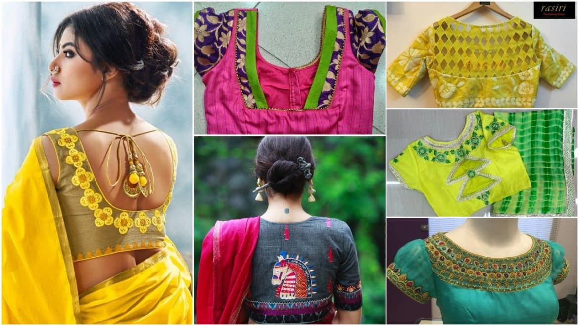 Handcrafted blouses