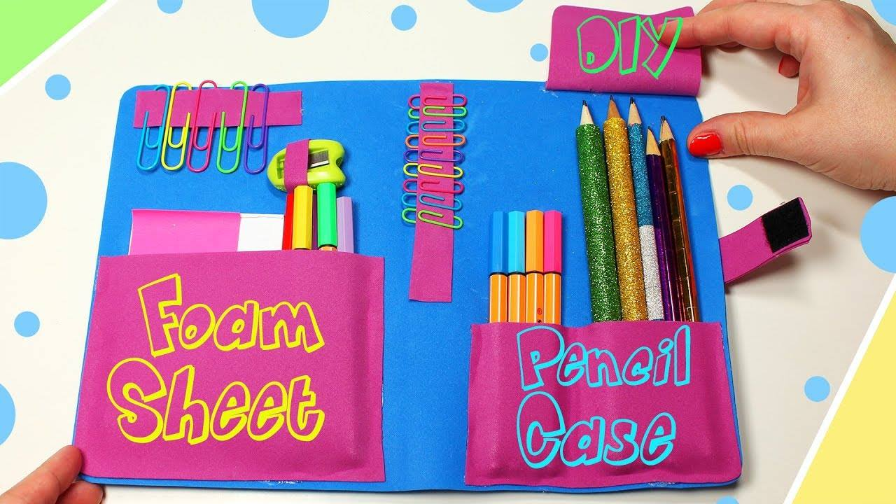 how to use craft foam sheets