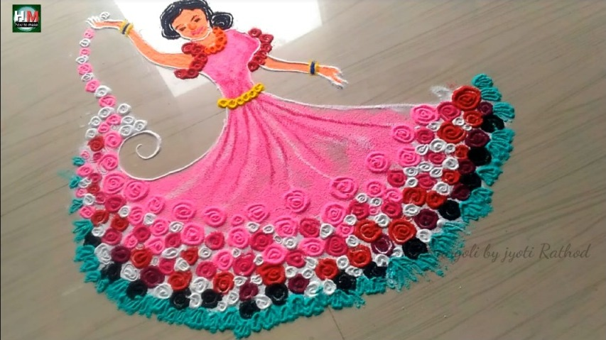 Unique Women S Day Rangoli Designs Artsycraftsydad Simple and creative 7 to 7 rangoli. artsycraftsydad