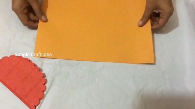 honey comb pop-up card