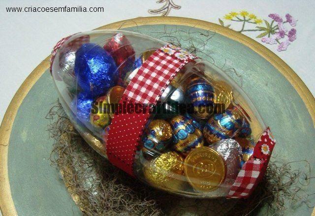 Egg from plastic bottles