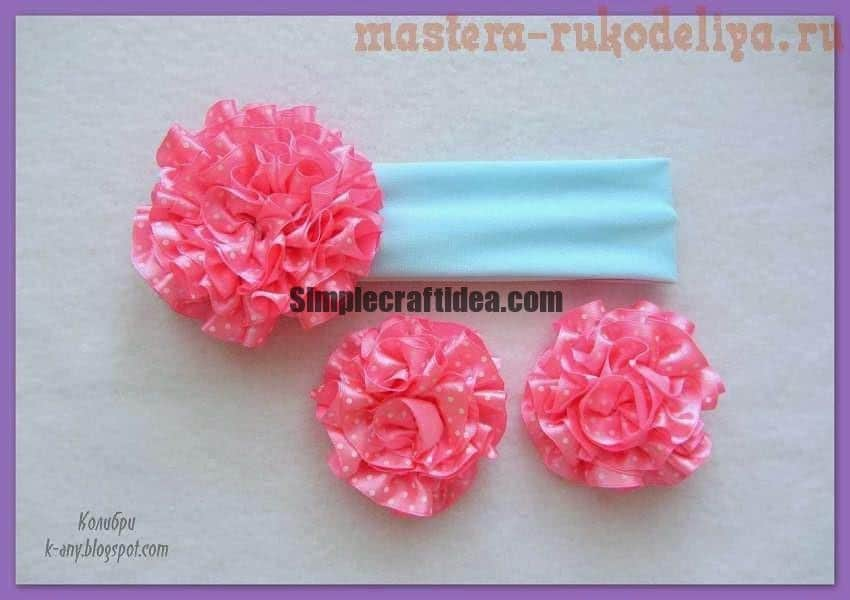 How to make Ornament with Carnation ribbon
