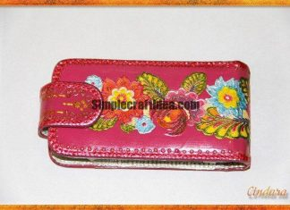 Decoupage Cell Phone Cases