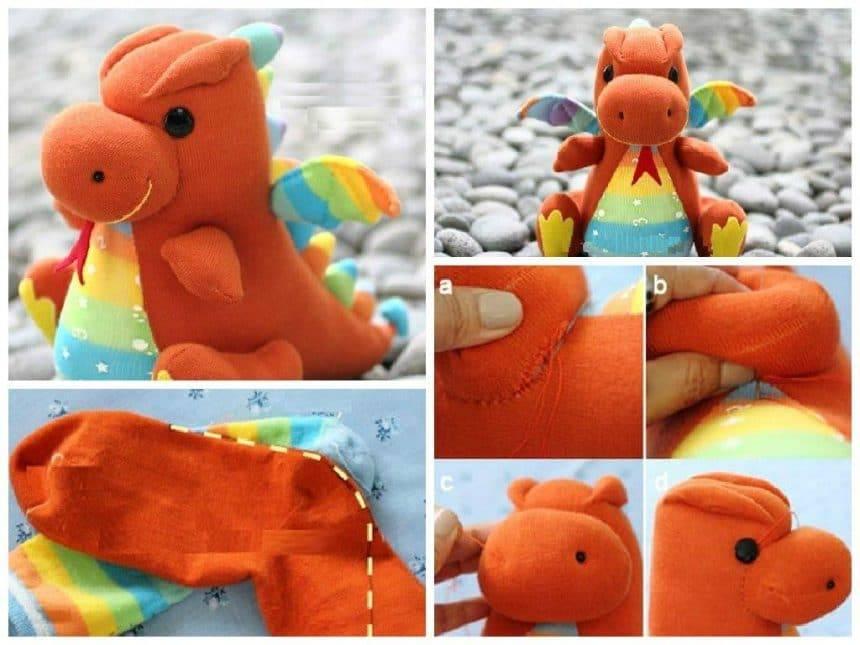Socks dragon