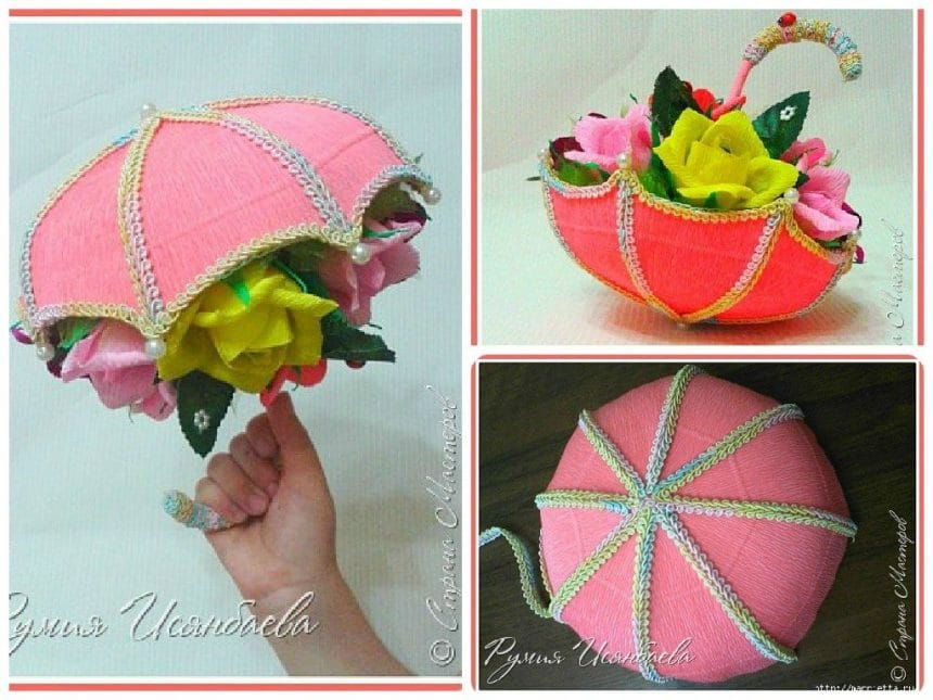 Candy flower umbrella.