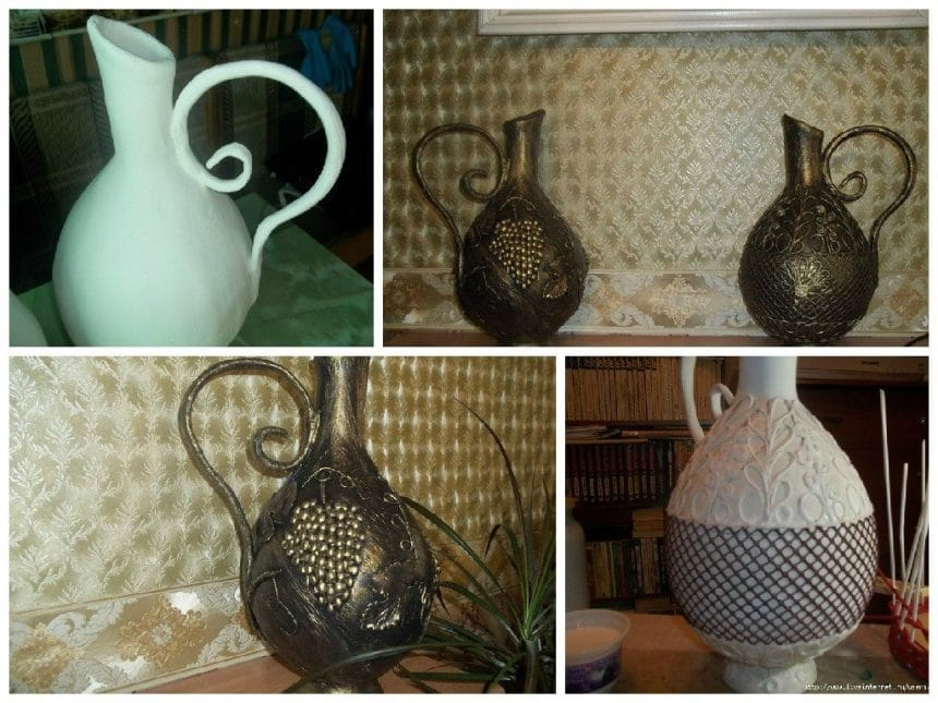 Pitcher for the fireplace