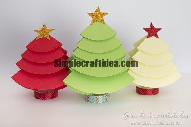 Christmas trees to decorate the table