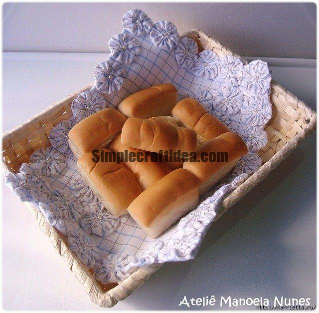 Napkin for bread bins
