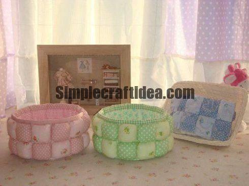 Stash for needlework patchwork