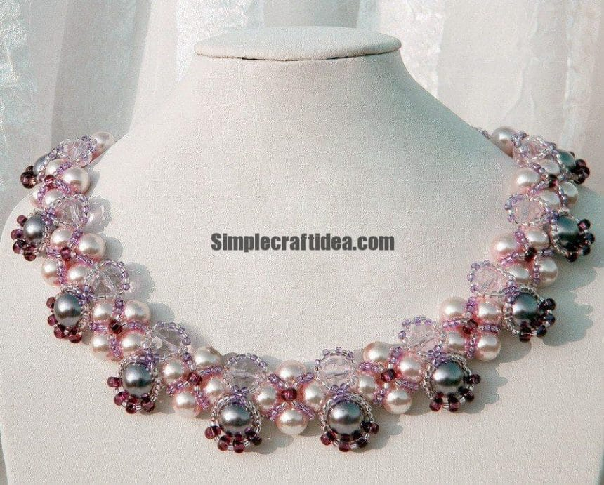 Pattern for beaded necklace