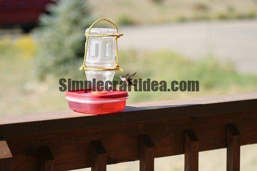 Simple and easy hummingbird feeder