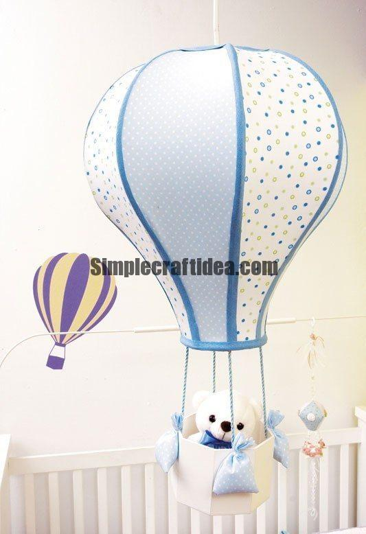 Hot air balloon lampshade simple craft ideas simple craft ideas hot air balloon lampshade aloadofball Images