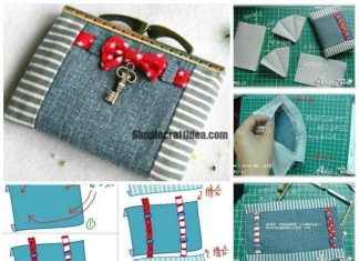 Purse with clasp