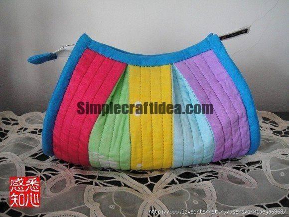 Rainbow cloth bag