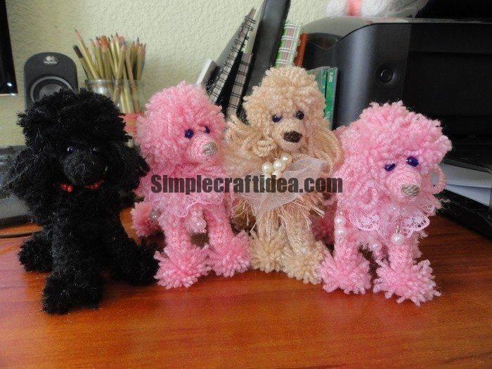 Yarn poodle