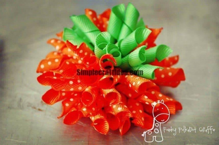Bow of ribbon