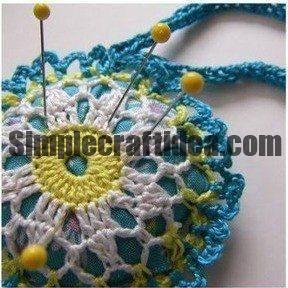 Crochet needle bar