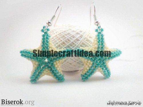 How to Make Beaded Starfish Earrings