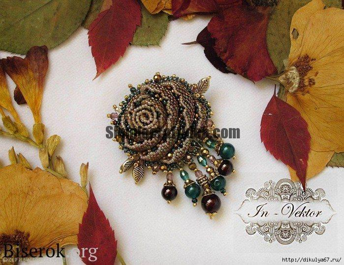 How to Make handmade Brooches with Beads