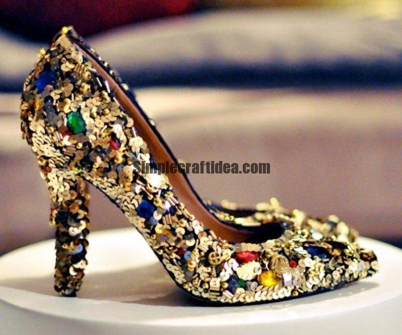 Make shiny shoes