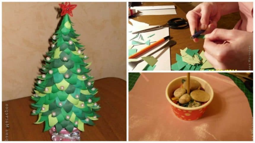 Make a Paper Christmas Tree
