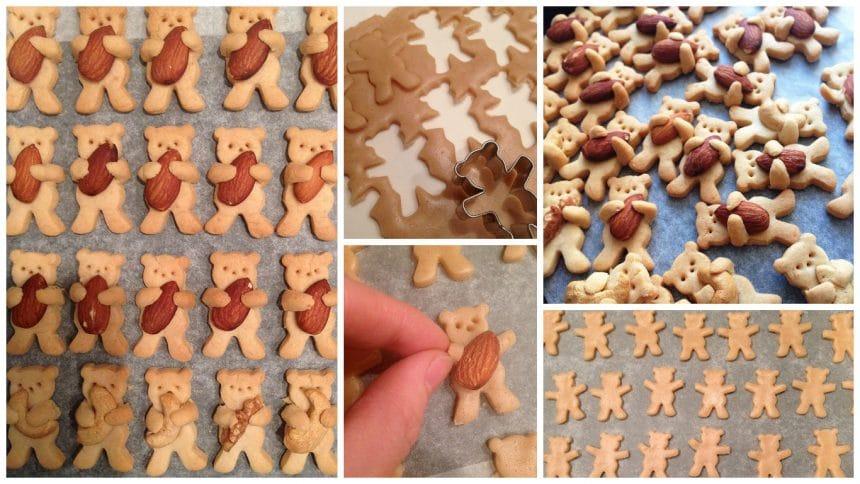 Adorable Hugging Bear Cookies