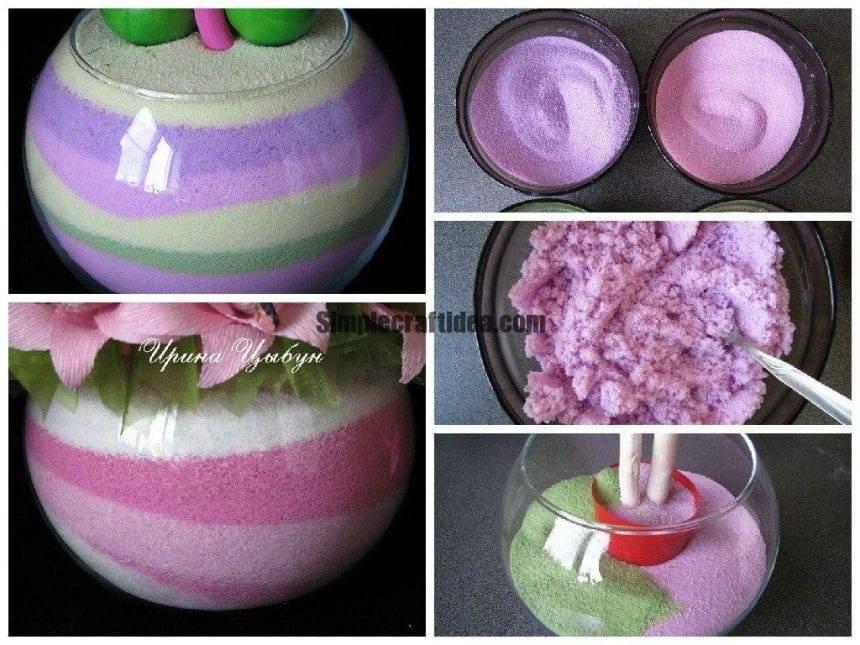 Pot with salt