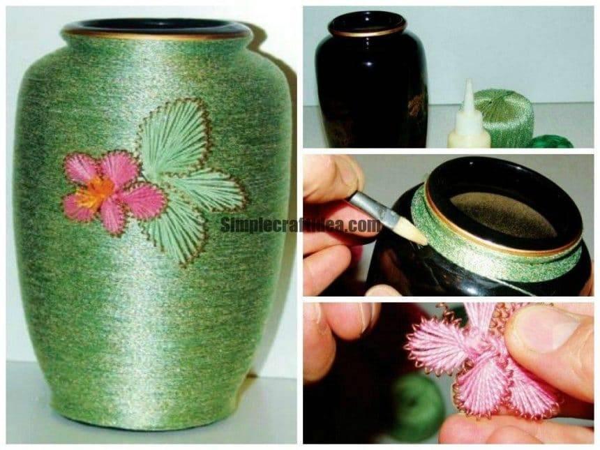 Braided vase