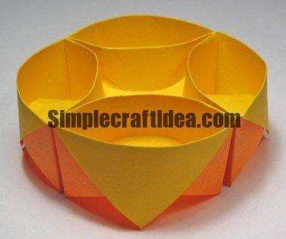 Paper box-tray