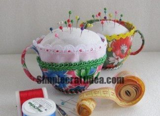 Teacup needle bed