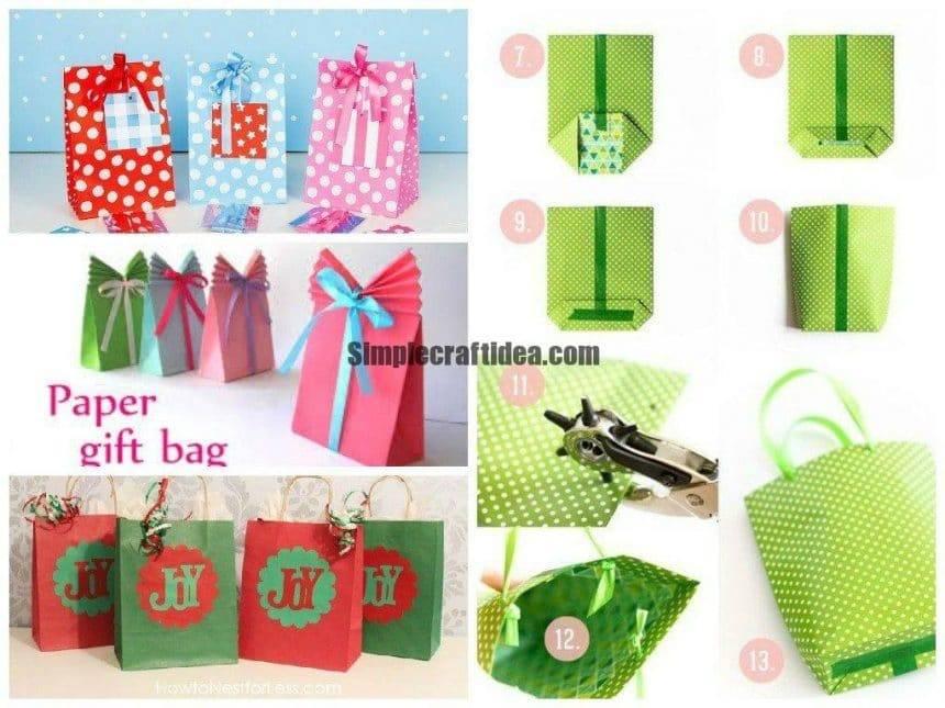 Making it easy gift bag