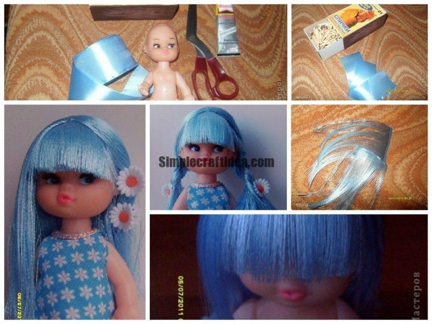 Hair for dolls