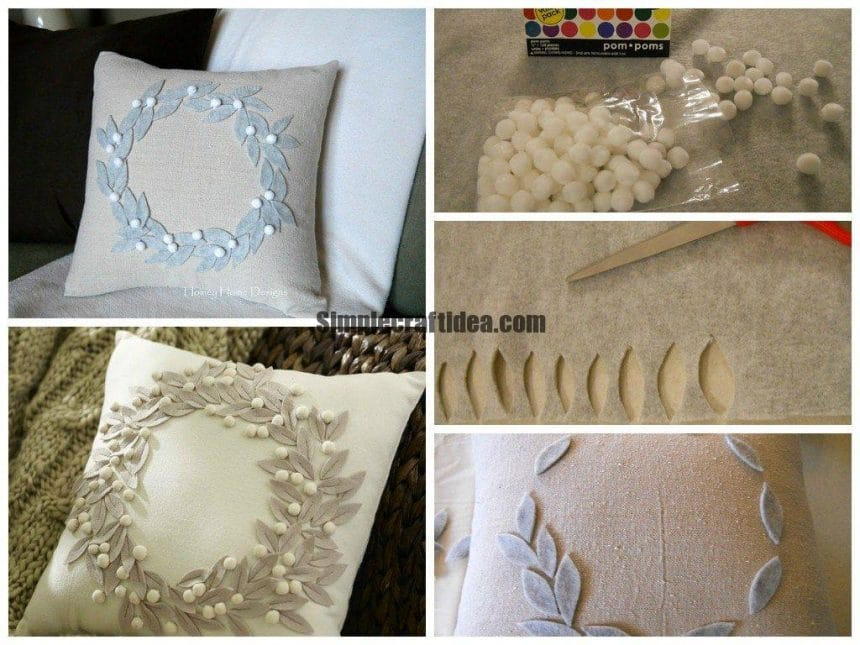 Decorating pillows