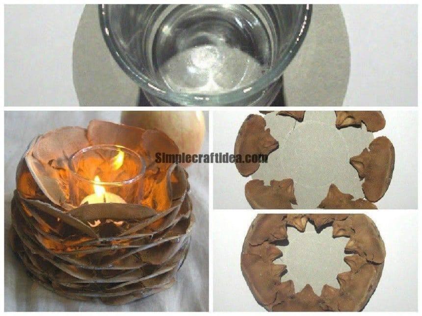 Cone candlesticks