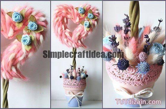 """Topiary """"Heart blossom"""""""