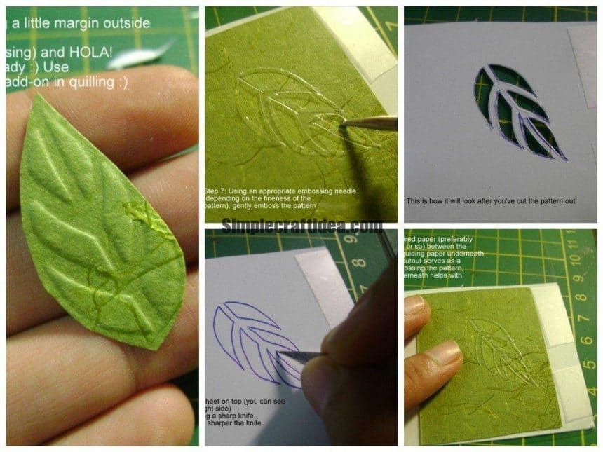 Make your embossing stencil