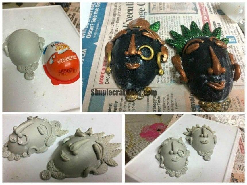 Handmade m seal face