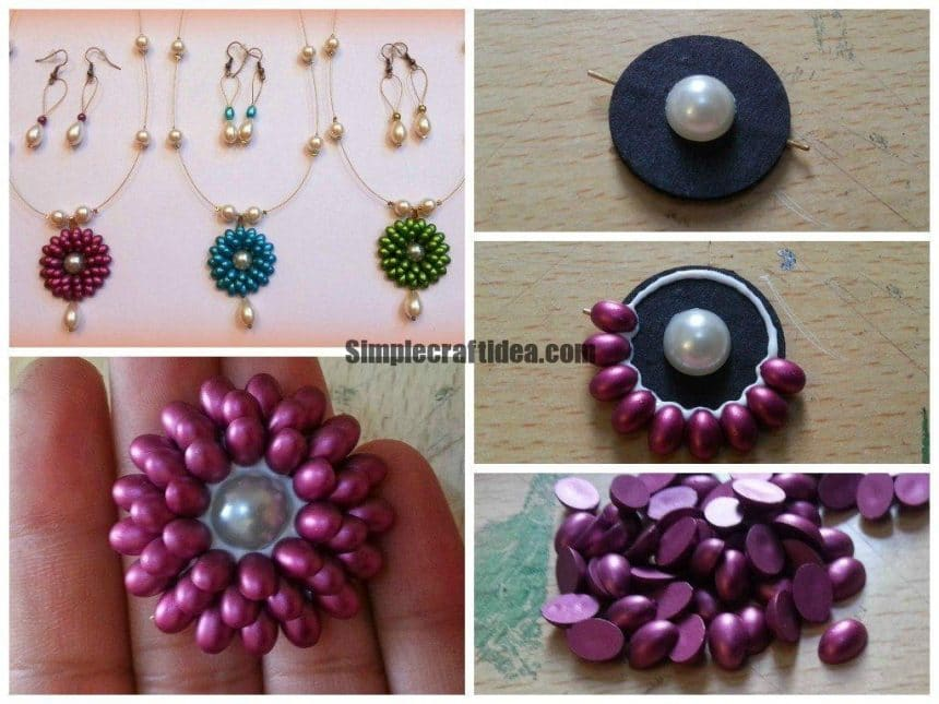 Bead soutache jewellery base tutorial