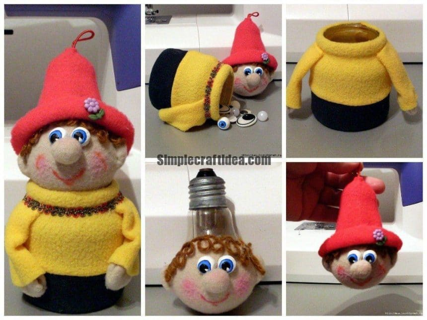 Making a gnome toy