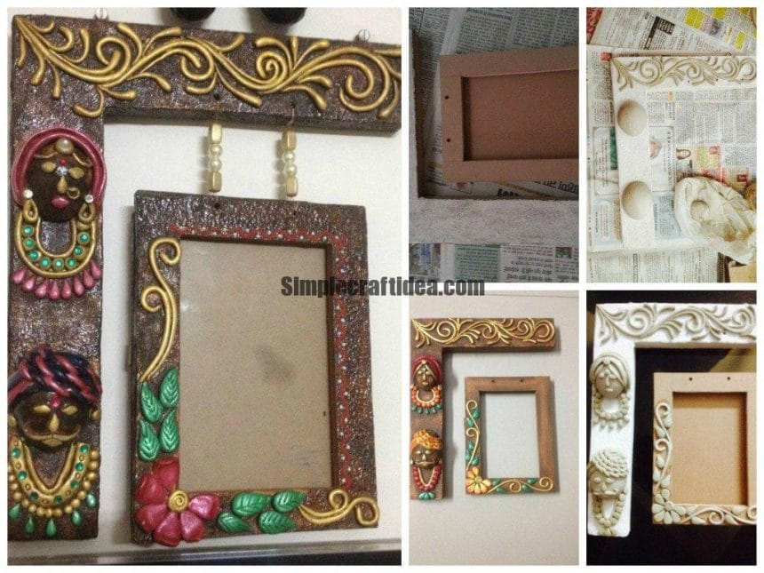 A new design of hanging photo frame