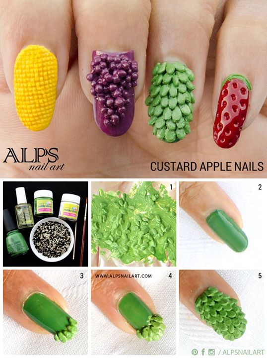 how to make acrylic nails with household items