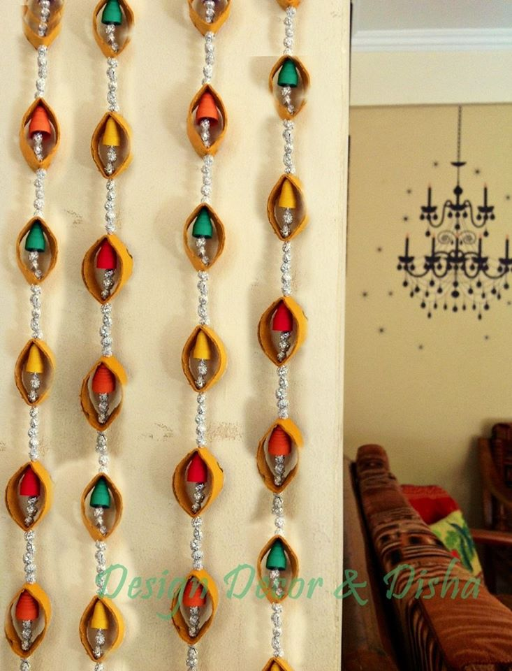 Beautiful wall hanging - Simple Craft Ideas