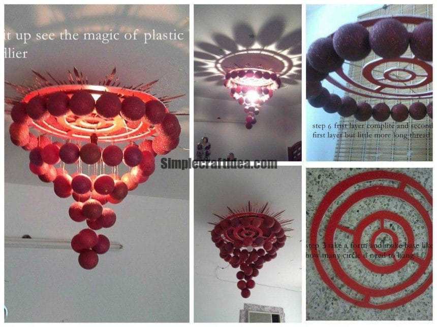 Plastic ball decorative lights