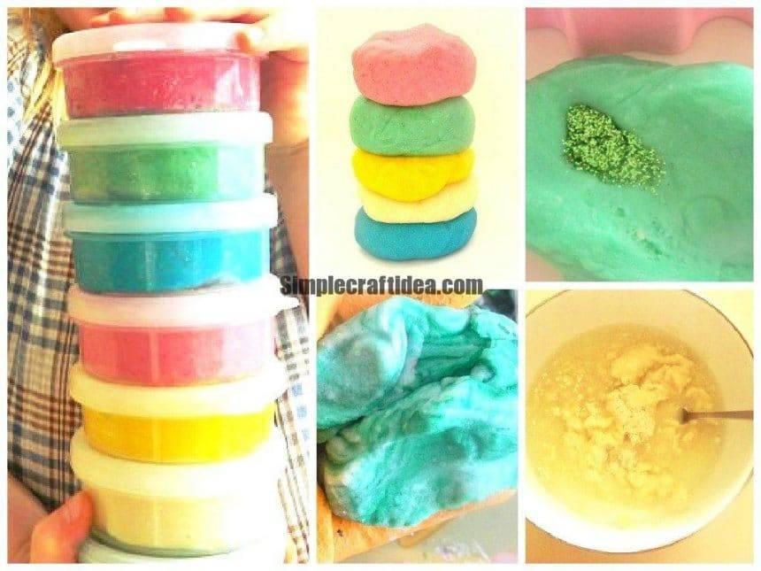Homemade clay