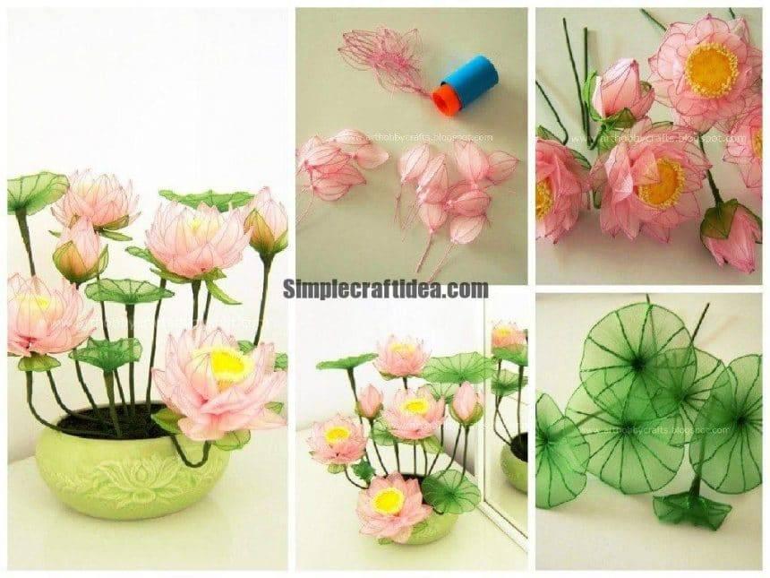 Stocking flower – Lotus