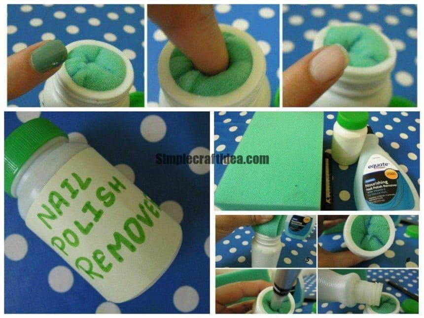 Make your own nail polish remover