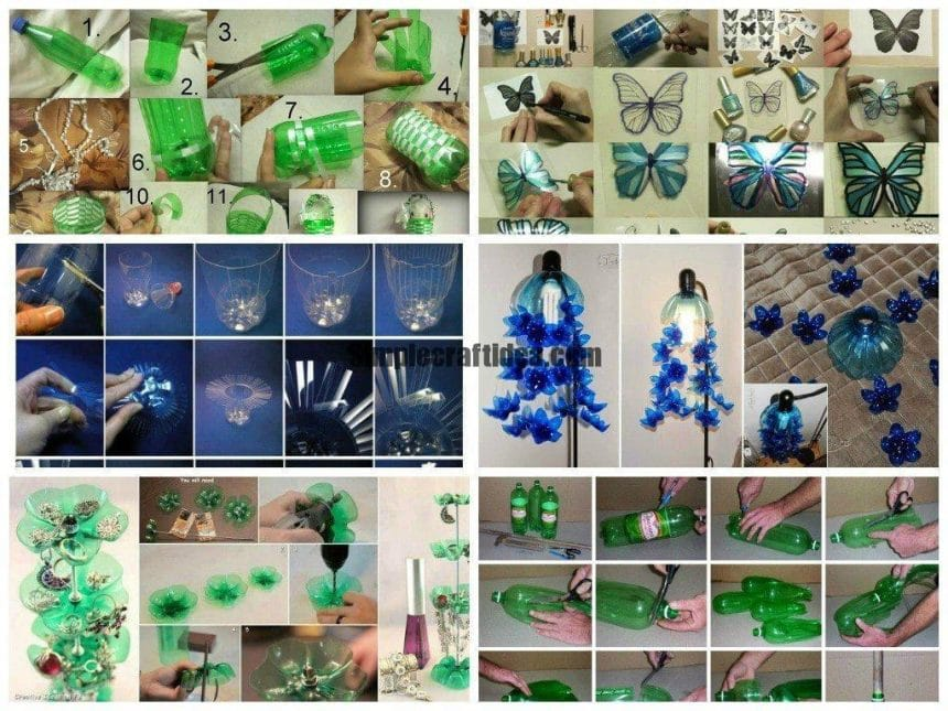 Pet bottle craft works