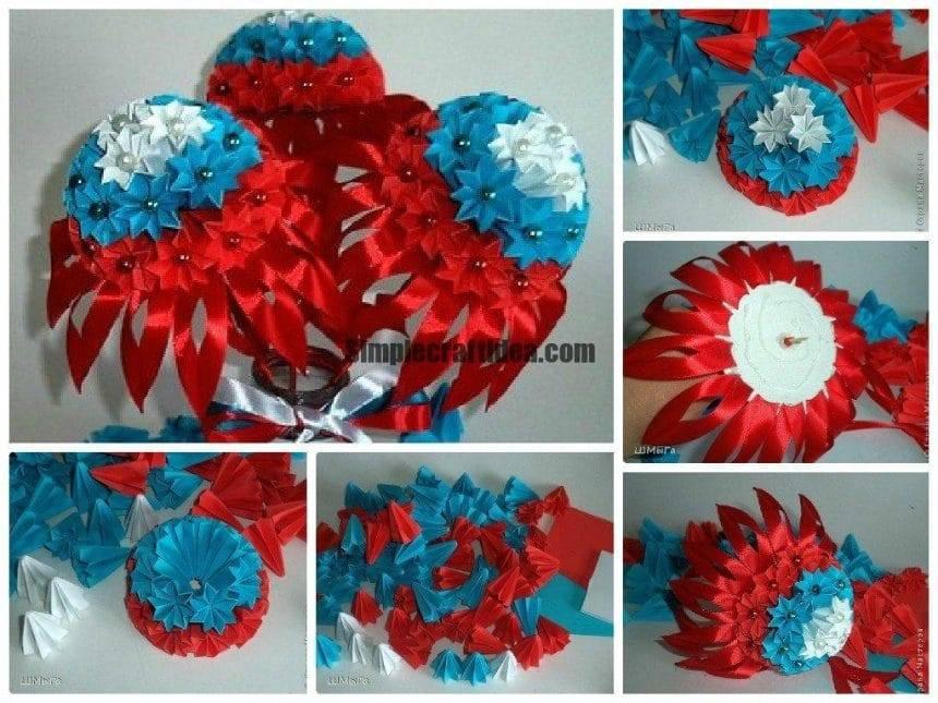 Flower like russian flag