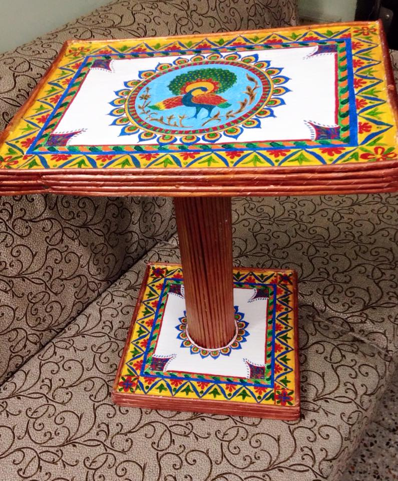 Thermocol Table Simple Craft Ideas