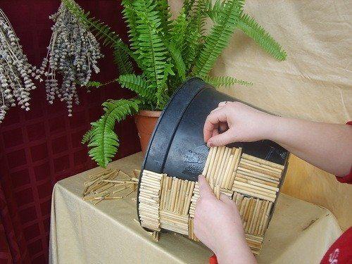 13 & Flower pot making - Simple Craft Ideas